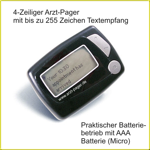 Batterie-Pager