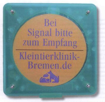 Pager in Tierklinik