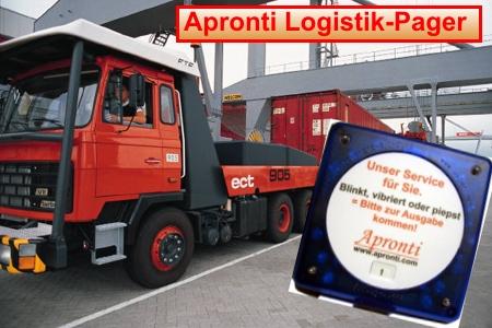 Logistik Pager für LKW, Speditionen