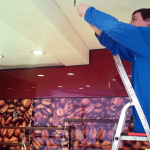 Installation in Bäckerei