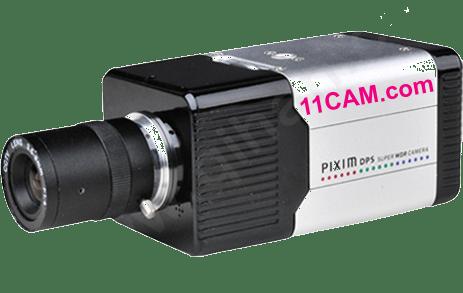 Box-Kamera mit steuerbarem Objektiv