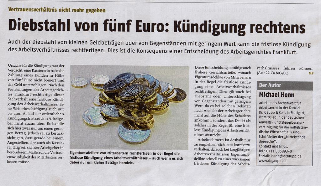 2007-Diebstahl-von-5-Euro-Kündigung-rechtens