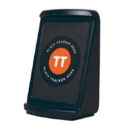 Ideal, der Tisch-Aufsteller für die Table-Tracker. Sehr flexibel verwendbar.
