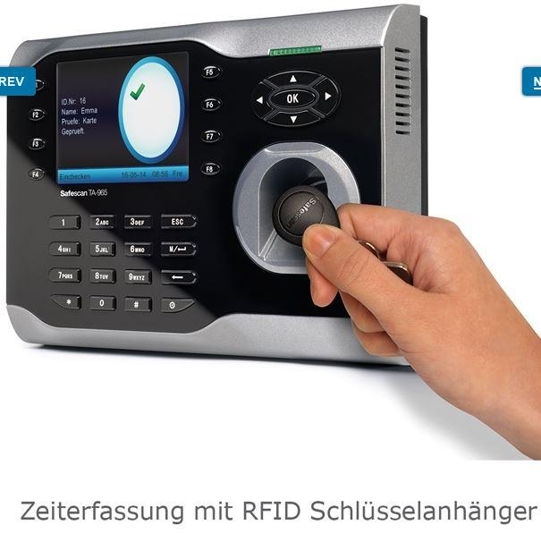 RFID-Zeiterfassung-Stempeluhr-Safescan-965-RFID-Anhänger