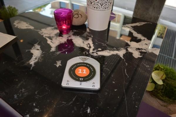 Table-Tracker RFID-Aufkleber mit Metall-Abschirmfolie