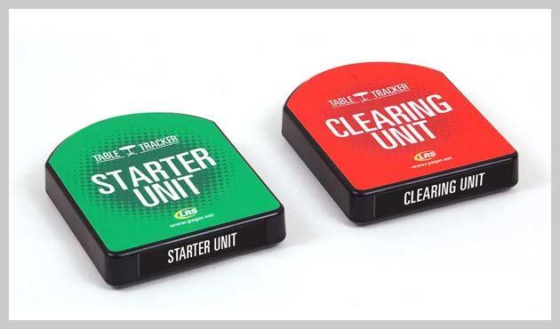 Starte und Clearing-Einheit um Tracking-Vorgang zu starten und wieder zu beenden.