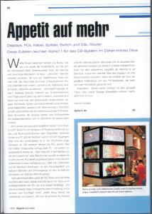 Bericht-Alpha11-in-Digital-Signage-Fachzeitschrift