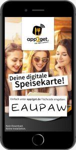 app2get Digitale Speisekarte für Gastronomie