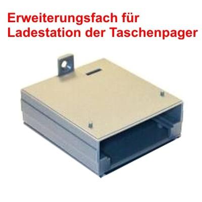 Erweiterungsfach für Taschenpager-Ladestation-Stapelbar