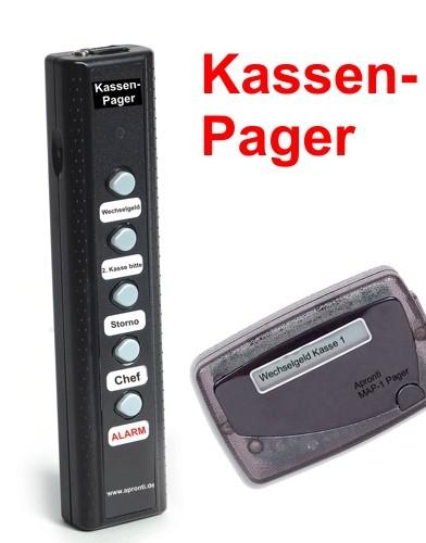Kassen-Pager ideal für Kassenplätze