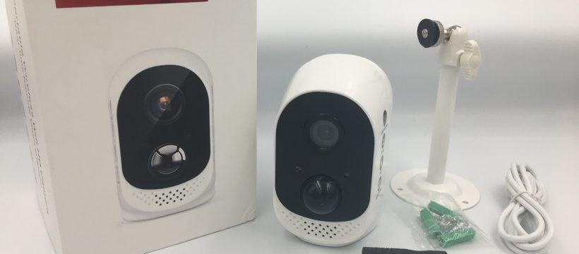 Microshare-Porti-Lieferumfang Akku-Überwachungskamera