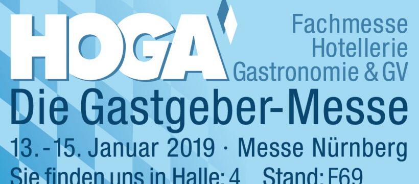 HOGA 2019 Alpha11 und app2get Digitale Speisekarte
