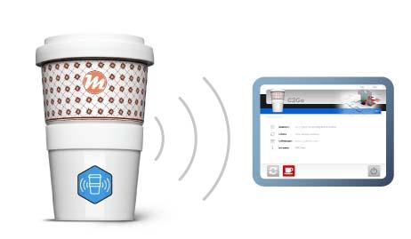 Coffee-To-Go Pfand-Becher mit Bezahlfunktion