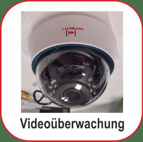 Videoüberwachung Installation in ganz Deutschland und Österreich