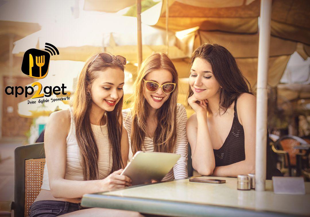 app2get Deine Digitale Speisekarte