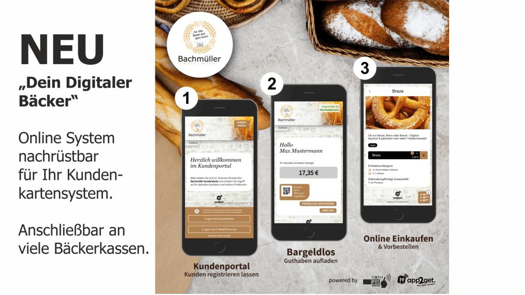 Dein Digitaler Bäcker app2get