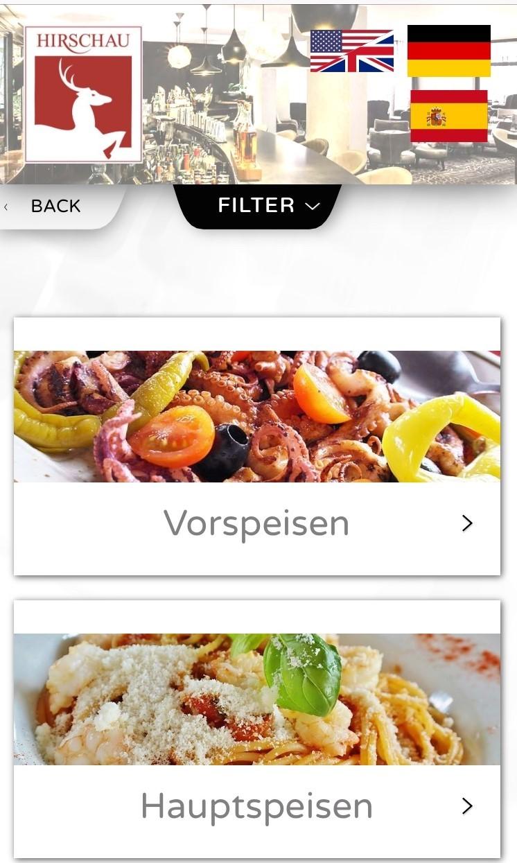 app2get-Live-Speisekarte