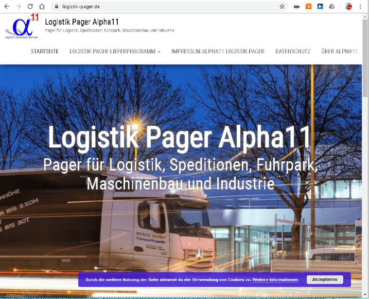 Redesign Logistik-Pager 2018