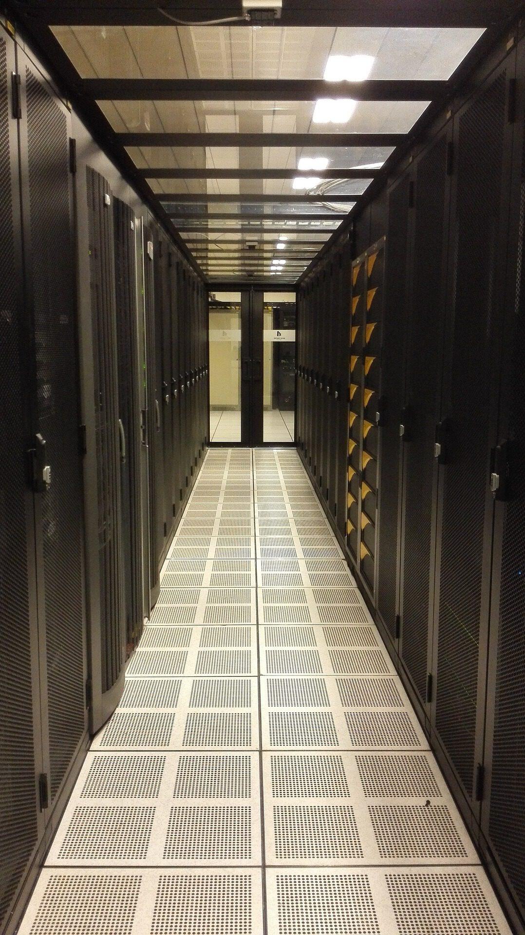 Speicherplatz Serverraum Provider
